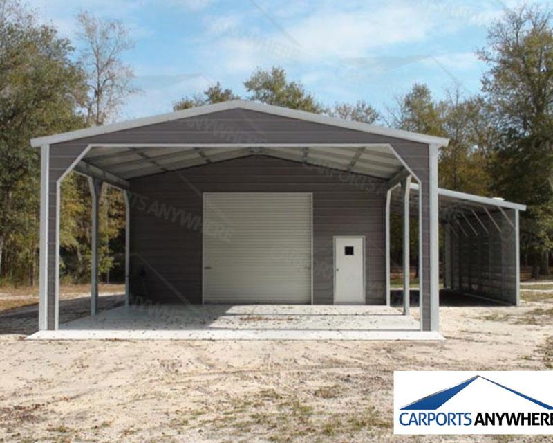 Carports Steel Metal Buildings Barns Custom Jacksonville ...